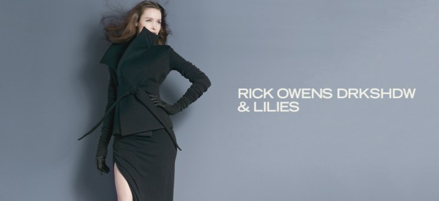 RICK OWENS DRKSHDW & Lilies at MYHABIT