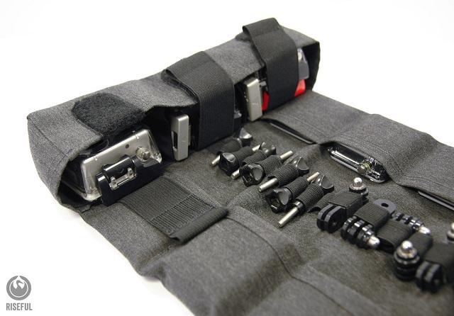 Riseful RollPro III GoPro Organizer Carrying Case_3