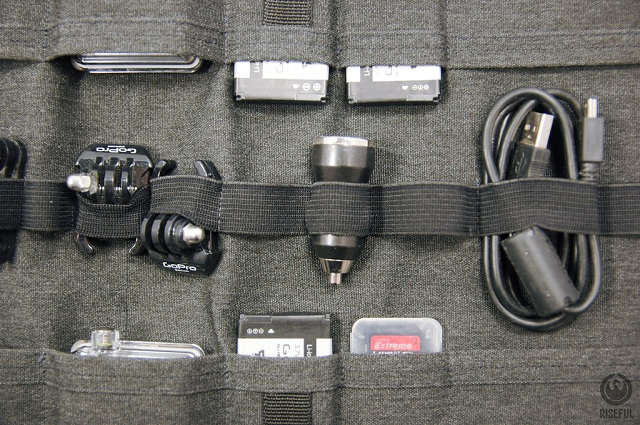 Riseful RollPro III GoPro Organizer Carrying Case_5