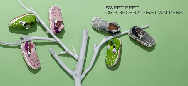 Sweet Feet: Crib Shoes & First Walkers at MYHABIT