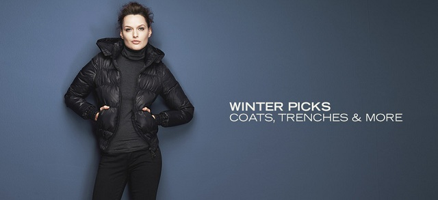 Winter Picks: Coats, Trenches & More at MYHABIT