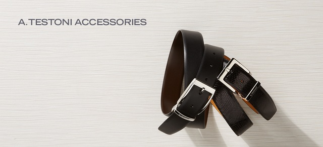 a.testoni Accessories at MYHABIT