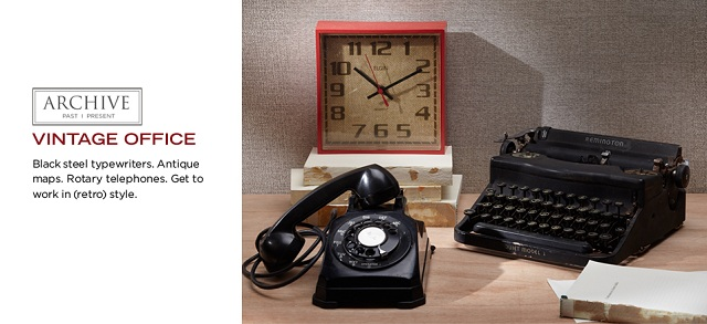 ARCHIVE: Vintage Office at MYHABIT