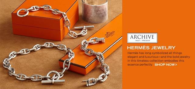 Archive: Hermès Jewelry at MYHABIT