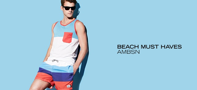 Beach Must Haves: ambsn at MYHABIT