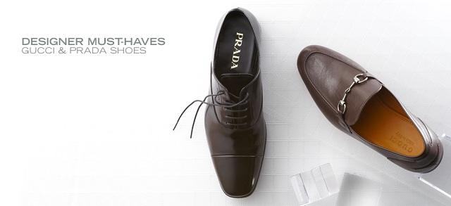 Must-Haves: Gucci & Prada Shoes at MYHABIT Patagonia at MYHABIT