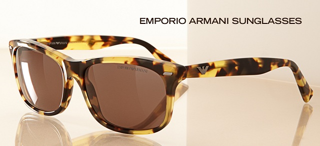 Emporio Armani Sunglasses at MYHABIT