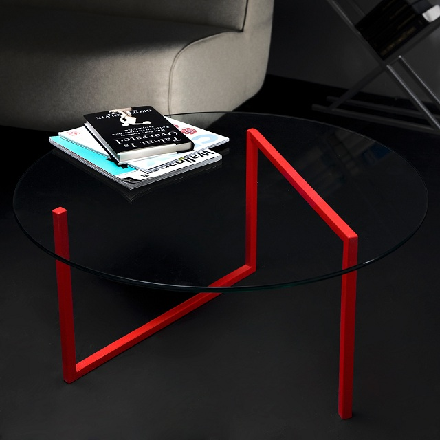 FAKTURA SNAKE Round Coffee Table