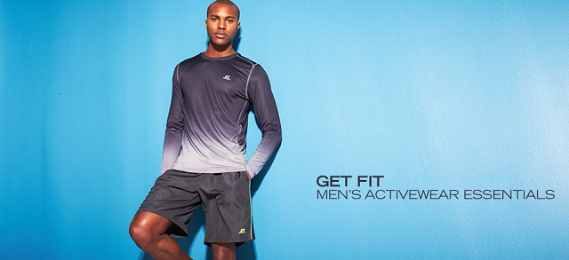 Get Fit: Men's Activewear Essentials at MYHABIT