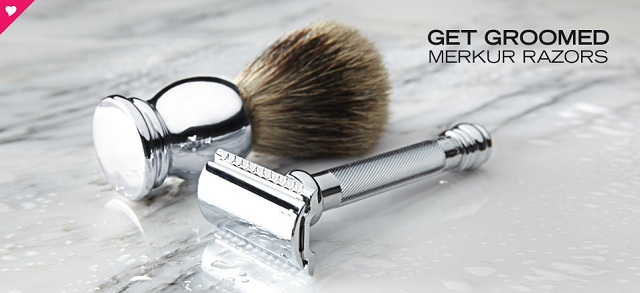 Get Groomed: Merkur Razors at MYHABIT