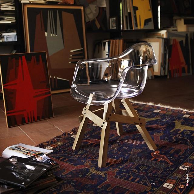 Kubikoff Icon Walnut Chair