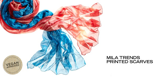 MILA Trends Printed Scarves at MYHABIT