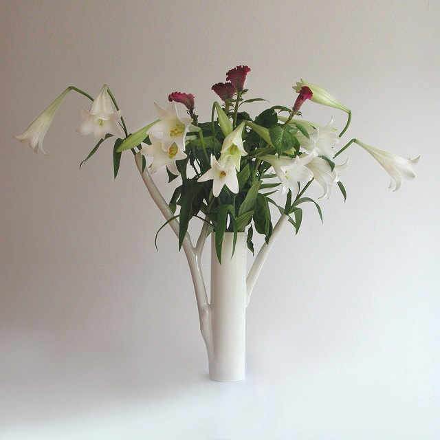 Marre Moerel Roos 2 Branches Vase_2