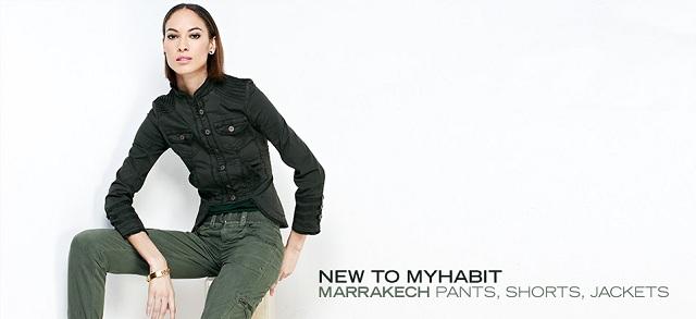 New to MYHABIT: Marrakech Pants, Shorts & Jackets at MYHABIT