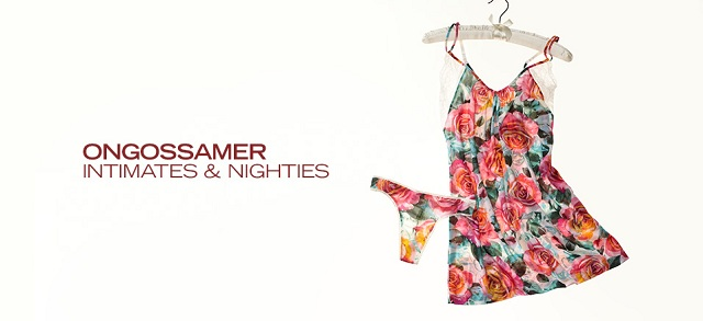 OnGossamer: Intimates & Nighties at MYHABIT