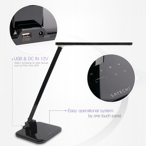 Satechi Smart LED Desk Lamp with Touch Control Dimmable Lighting_6