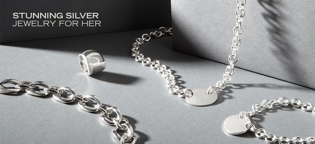 Stunning Silver: Jewelry for Her at MYHABIT