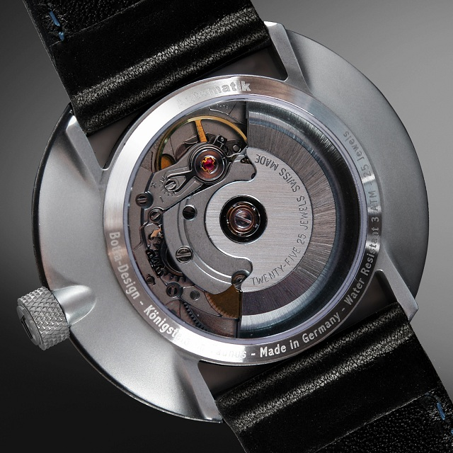 Uno 24 - One Hand Men's Watch by Botta-Design_2