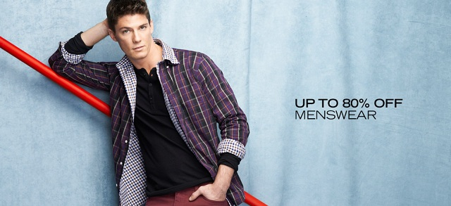 Up to 80% Off: Menswear at MYHABIT