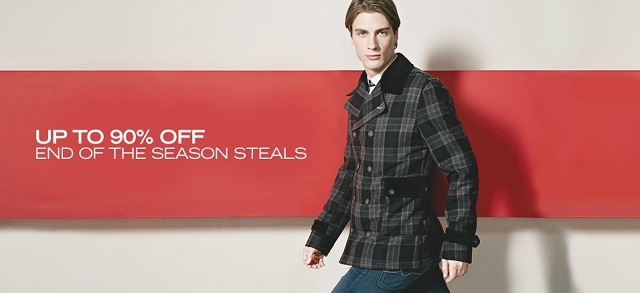 Up to 90% Off: End of the Season Steals at MYHABIT