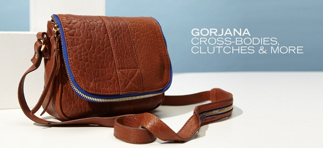 gorjana: Cross-Bodies, Clutches & More at MYHABIT