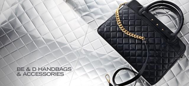Be & D Handbags & Accessories at MYHABIT