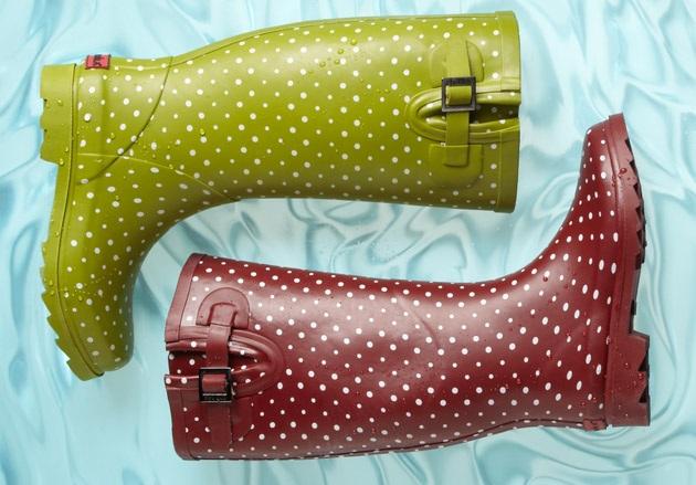 Chooka Women's Posh Dots Rain Boot