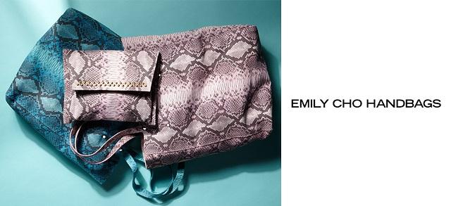 Emily Cho Handbags at MYHABIT