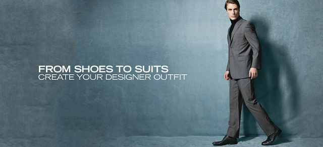 From Shoes to Suits: Create Your Designer Outfit at MYHABIT