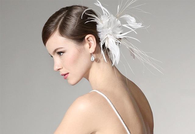 Giovannio Women's Feather Clip