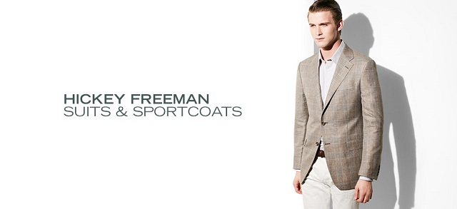 Hickey Freeman: Suits & Sportcoats at MYHABIT
