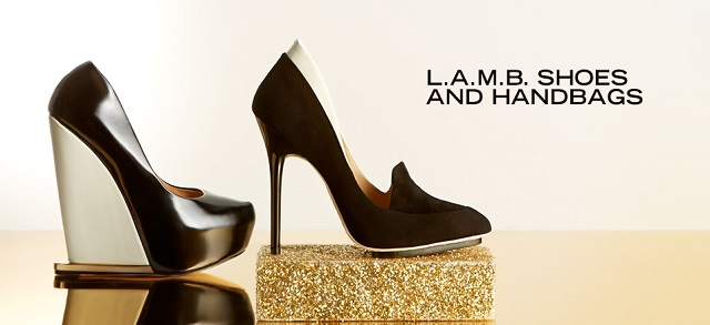 L.A.M.B. Shoes and Handbags at MYHABIT