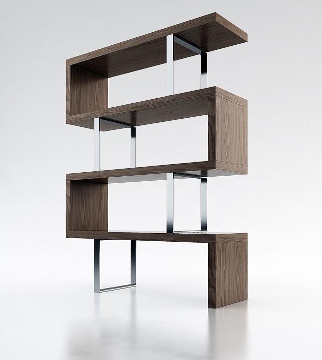 Modloft Pearl Bookcase_Wenge