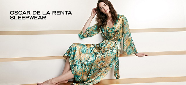 Oscar de la Renta Sleepwear at MYHABIT
