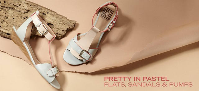 Pretty in Pastel: Flats, Sandals & Pumps at MYHABIT