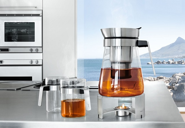 SENCHA Tea Maker and Warmer Set by Blomus