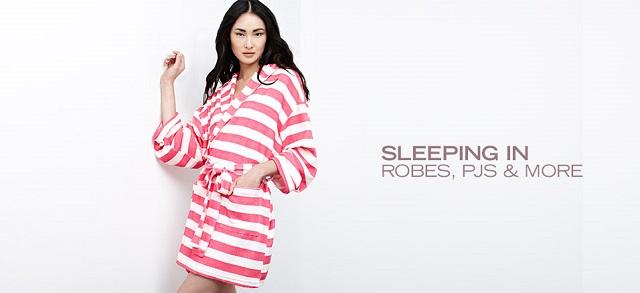 Sleeping In: Robes, PJs & More at MYHABIT