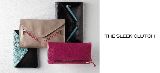 The Sleek Clutch at MYHABIT