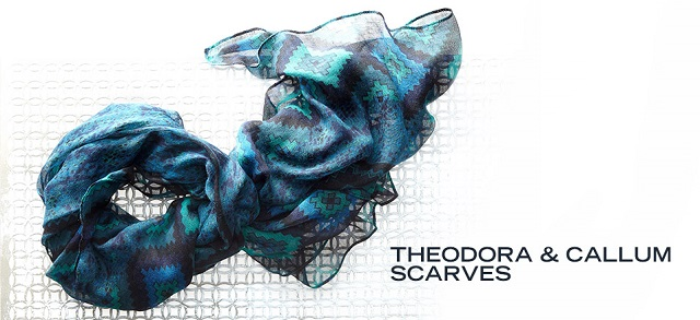 Theodora & Callum Scarves at MYHABIT