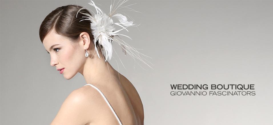 Wedding Boutique: Giovannio Fascinators at MYHABIT