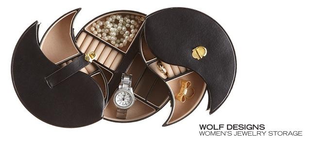 Wolf Designs Women's Jewelry Storage at MYHABIT