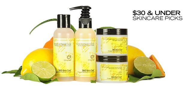 $30 & Under Skincare Picks at MYHABIT