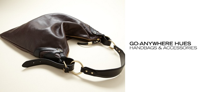 Go-Anywhere Hues Handbags & Accessories at MYHABIT