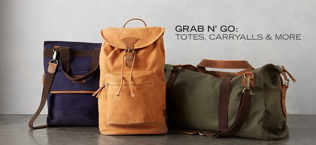 Grab N' Go Totes, Carryalls & More at MYHABIT
