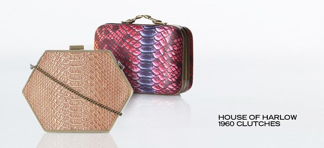 House of Harlow 1960 Clutches at MYHABIT