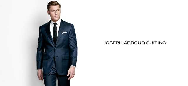 Joseph Abboud Suiting at MYHABIT