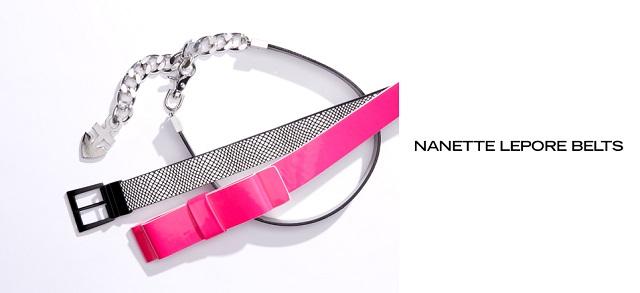 Nanette Lepore Belts at MYHABIT