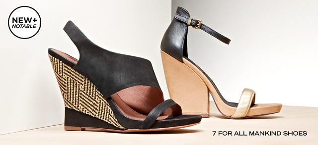 New + Notable 7 for All Mankind Shoes at MYHABIT