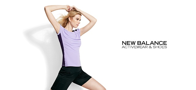 New Balance Activewear & Shoes at MYHABIT