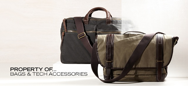 Property Of... Bags & Tech Accessories at MYHABIT